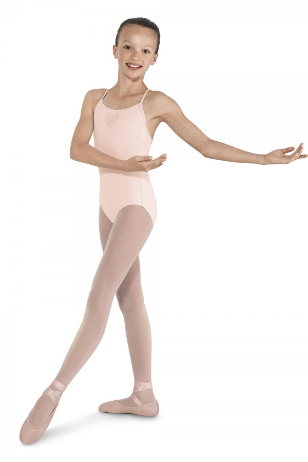 image - Sequin Heart Camisole Children's Dance Leotards