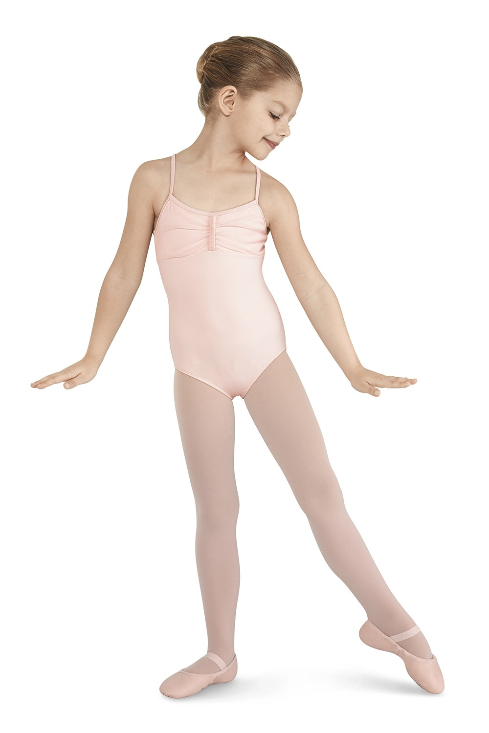 Sequin Bow Camisole Leotard Children's Dance Leotards