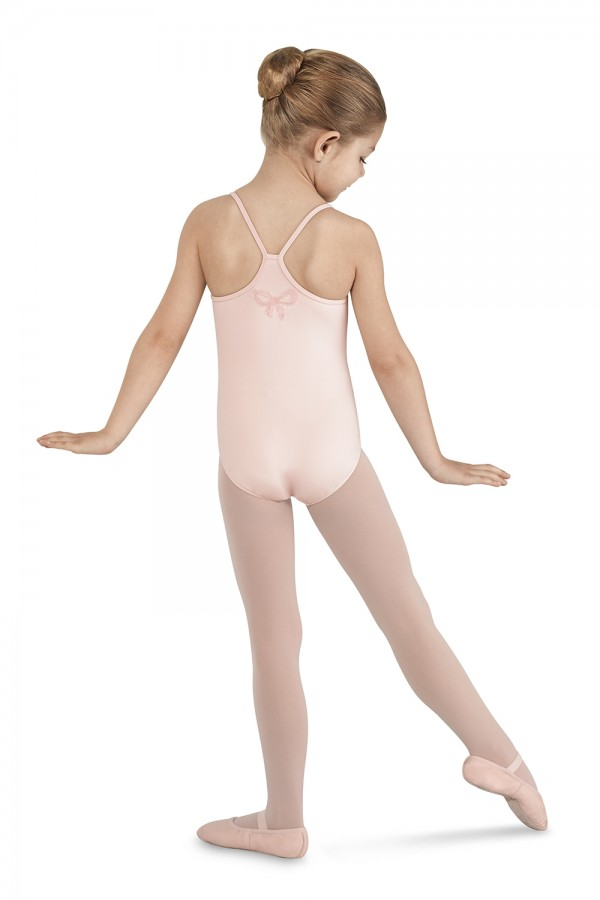image - Sequin Bow Camisole Leotard Children's Dance Leotards