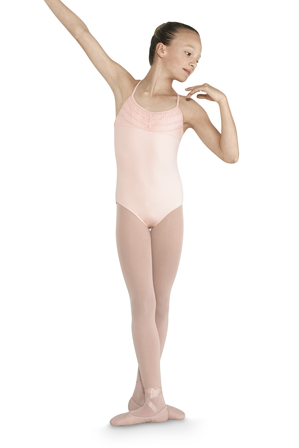 Cross Back Camisole Leotard Children's Dance Leotards