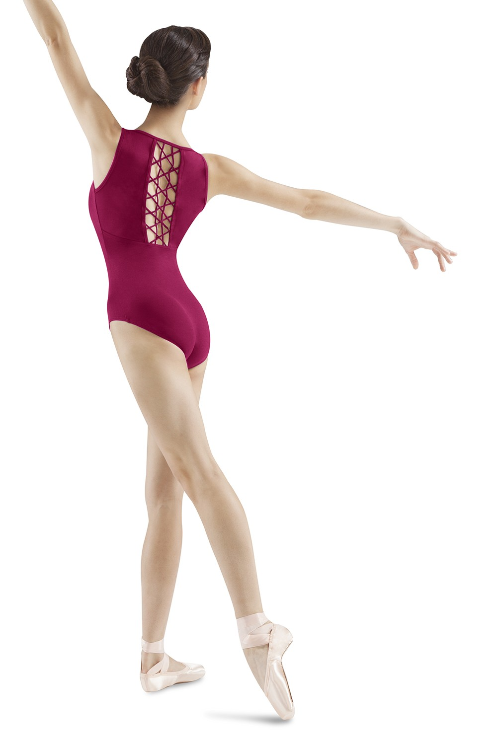 Lattice Back Tank Women's Dance Leotards