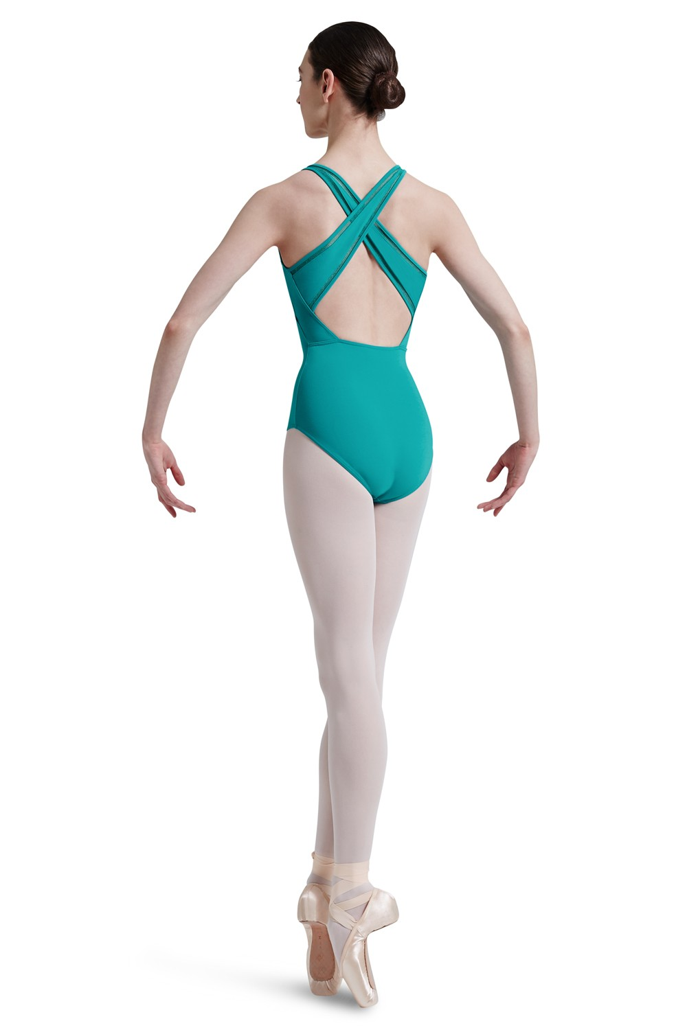 Body A Spalline Larghe Con Apertura Sul Retro Women's Dance Leotards