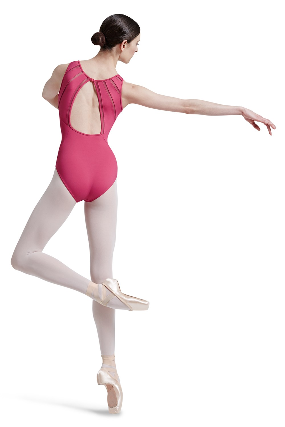 Mirella Lattice Elastic Panelled Back Tank Leotard Women's Dance Leotards