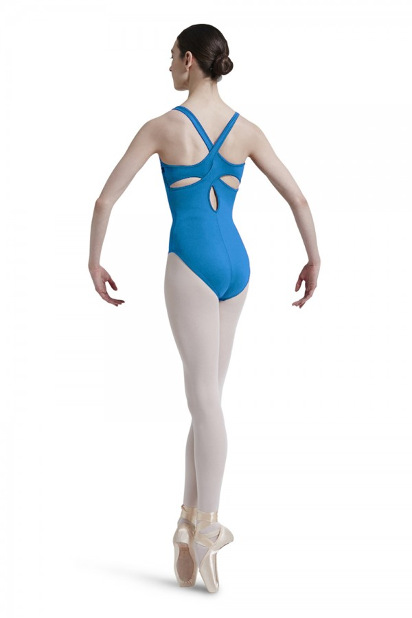 image - Lace Front Tank Leotard Women's Dance Leotards