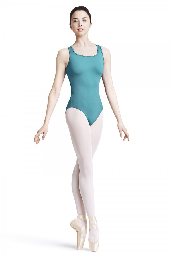 image - Zip back tank leotard Women's Dance Leotards