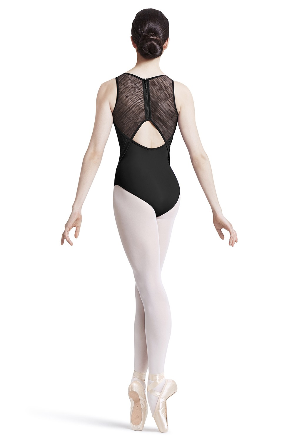 Body A Spalline Larghe Con Cerniera Sul Retro Women's Dance Leotards