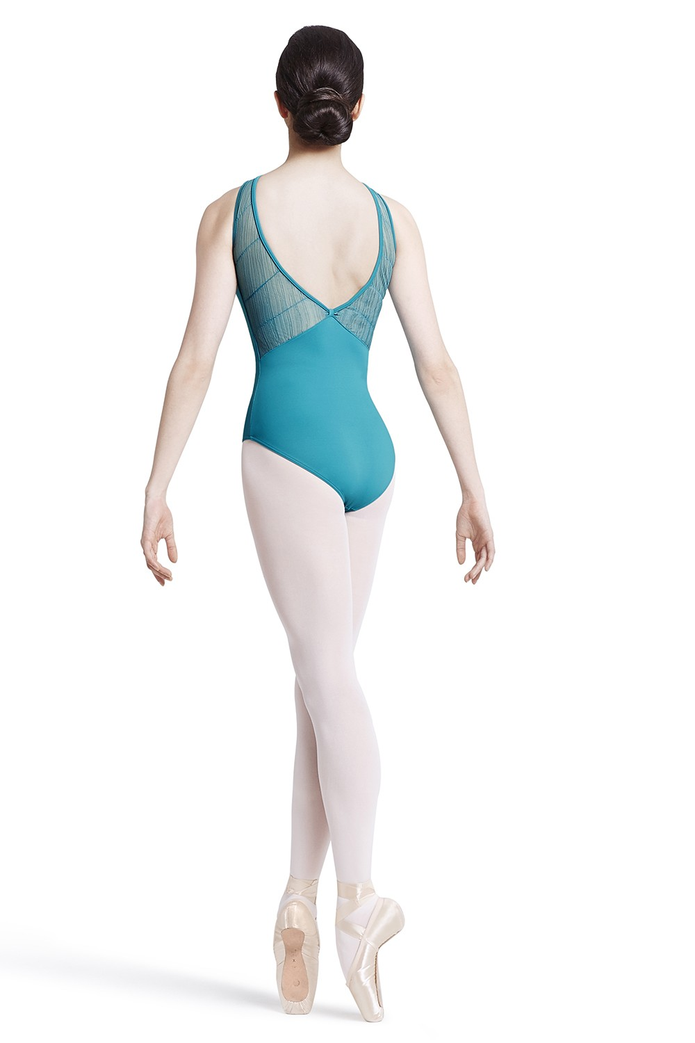 Body A Spalline Larghe Con Fiocco Sul Retro Women's Dance Leotards