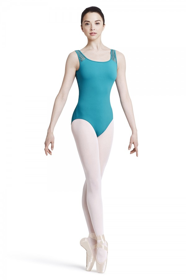 image - Bow Back Tank Leotard Women's Dance Leotards