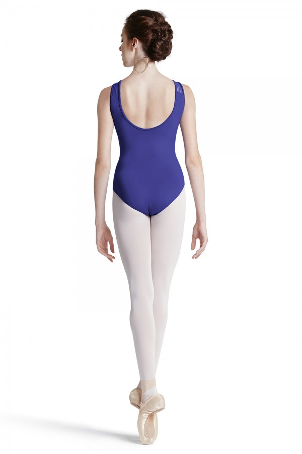 image - Lace Trim Side Leo Women's Dance Leotards