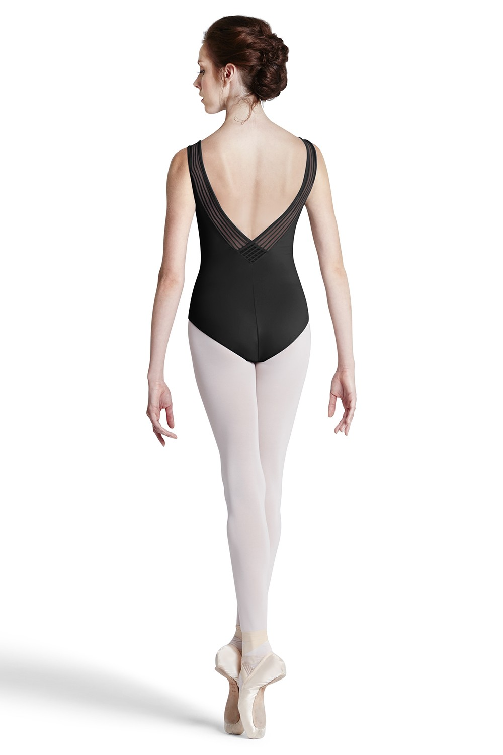 Stripe Lace Tank Leo Women's Dance Leotards