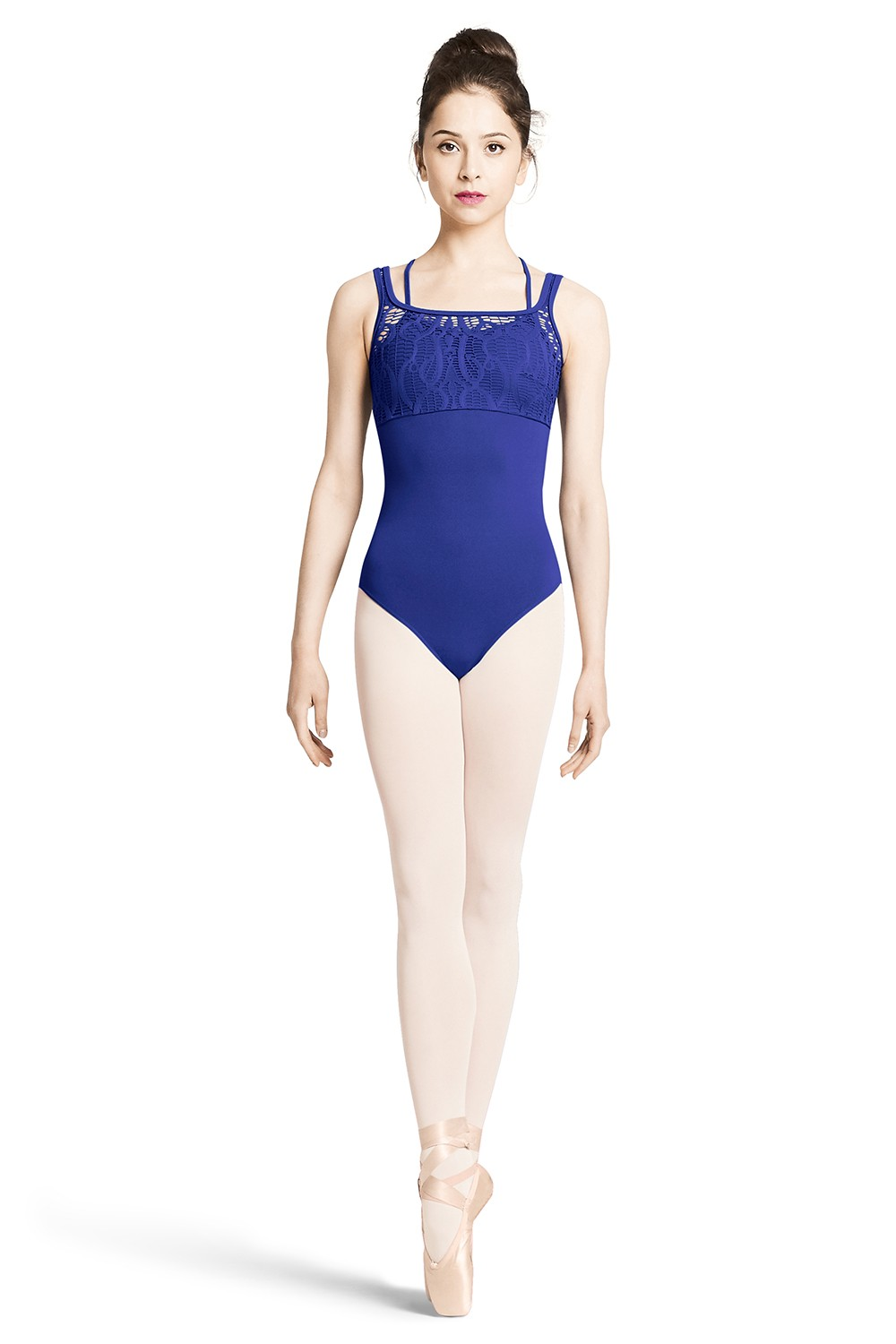 Lace Bodice Tank Leotard Women's Dance Leotards