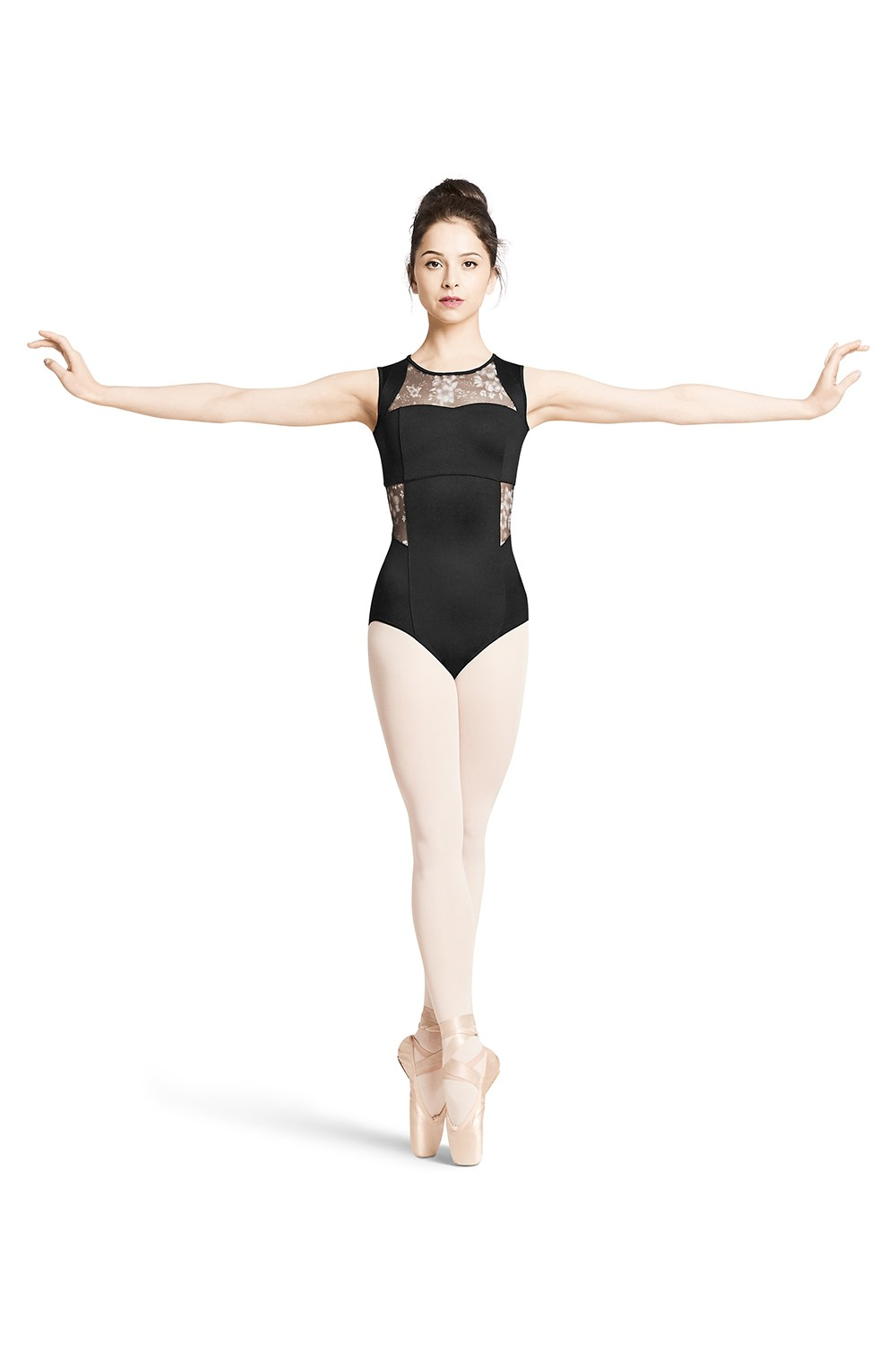 Body Con Chiusura A Cerniera Sul Retro Women's Dance Leotards