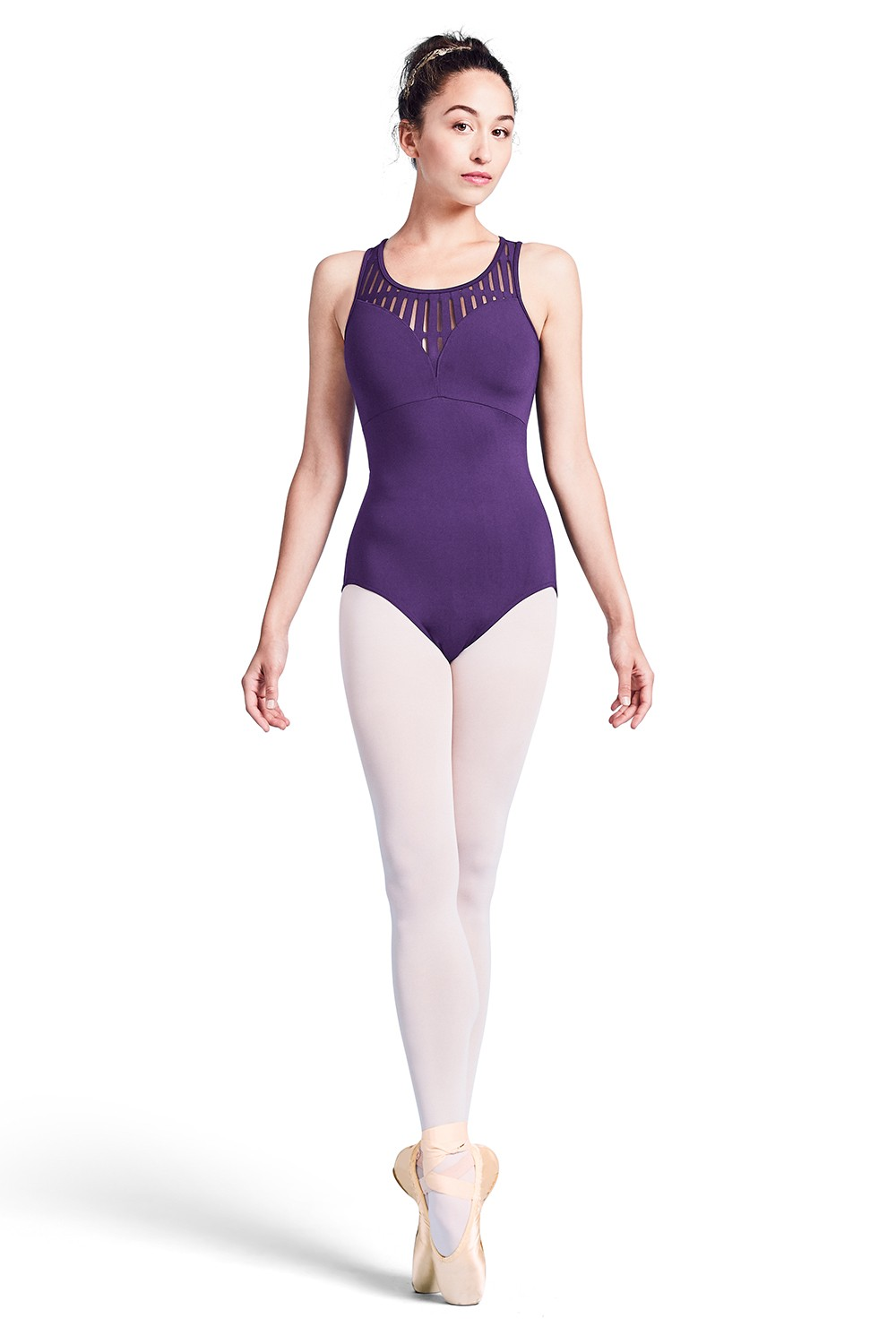 Justaucorps Avec Fermeture Zip Au Dos Womens Tank Leotards