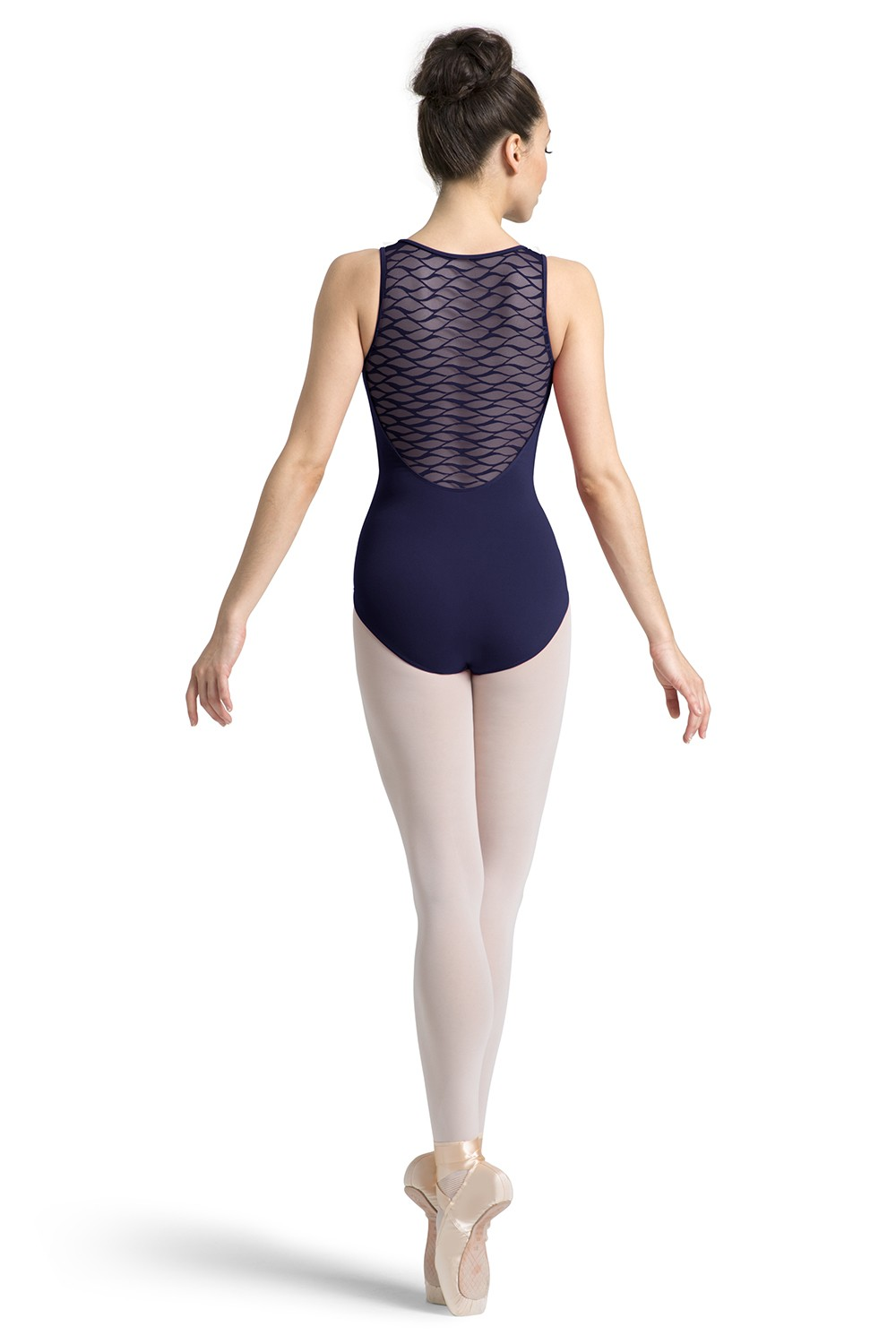 Wave Mesh Tank Leotard Women's Dance Leotards