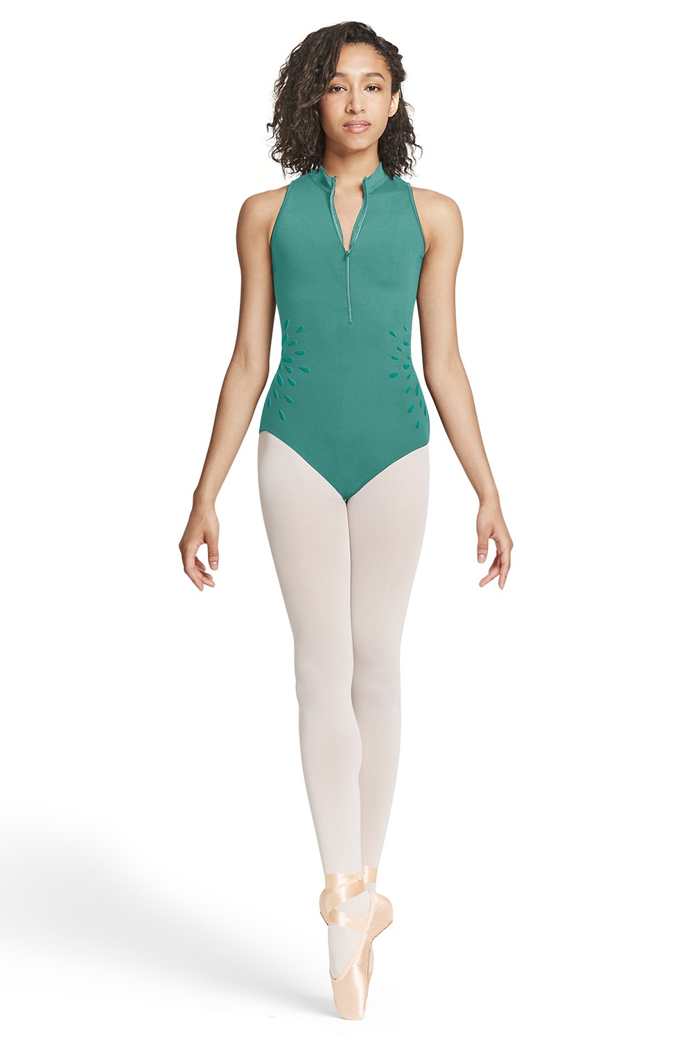 Zip Front Tank Leotard Women's Dance Leotards