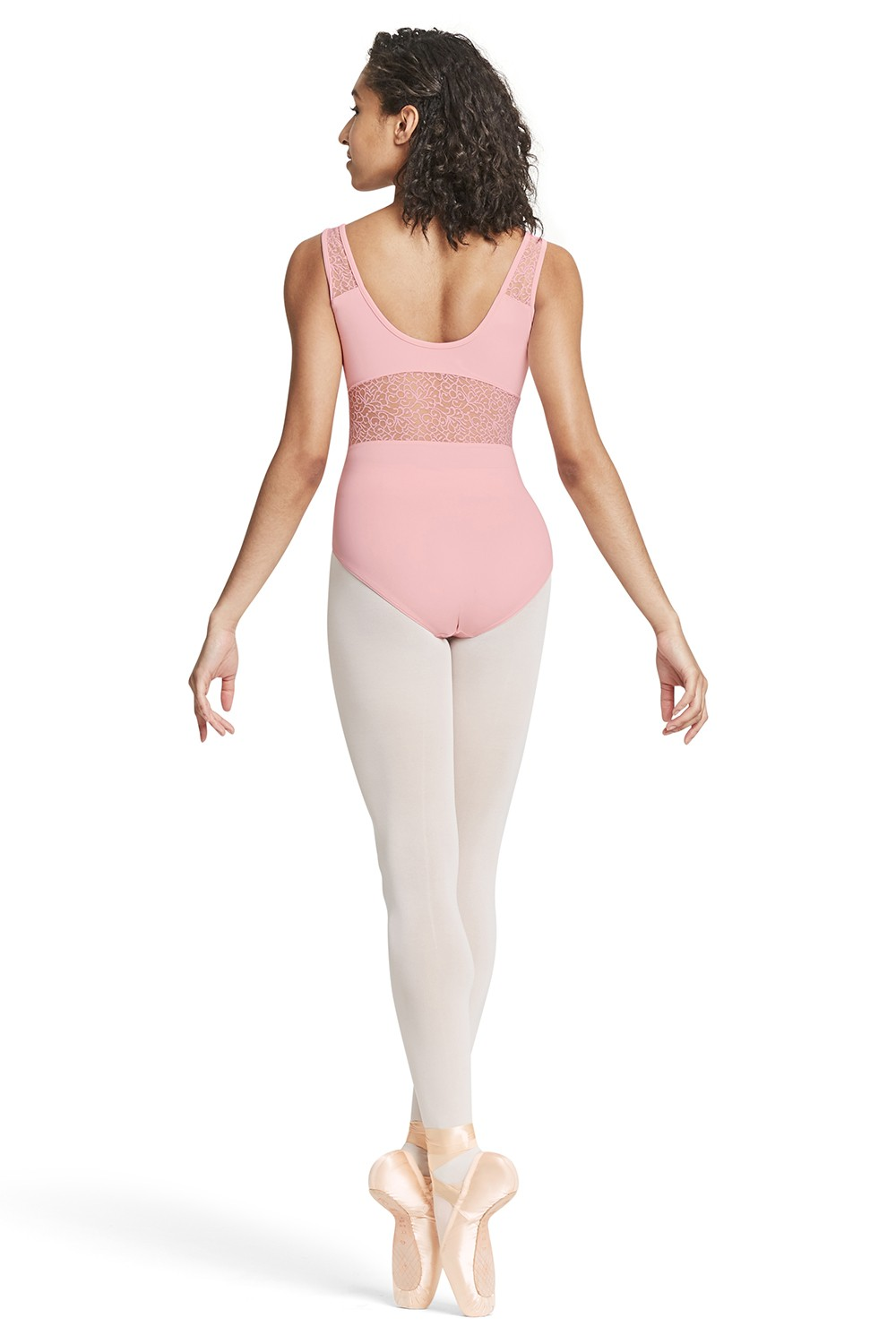 Mesh Panelled Tank Leotard - Tween Tween Dance Leotards