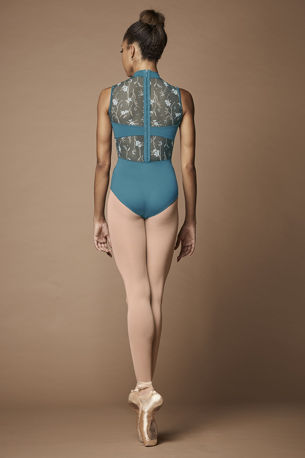 Wild Bloom Zip Back Leotard Women's Dance Leotards