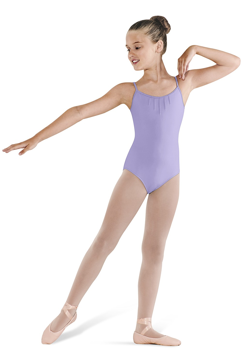 Pintuck Front Camisole Children's Dance Leotards