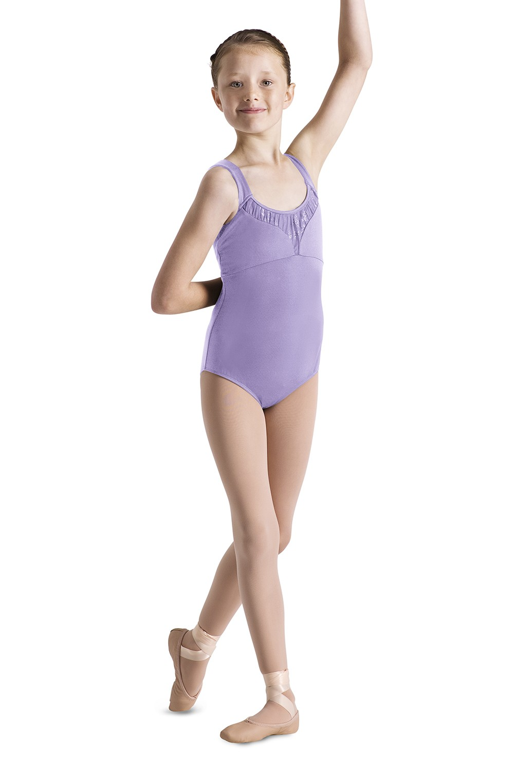 Shaped Yoke Tank Leotard Children's Dance Leotards