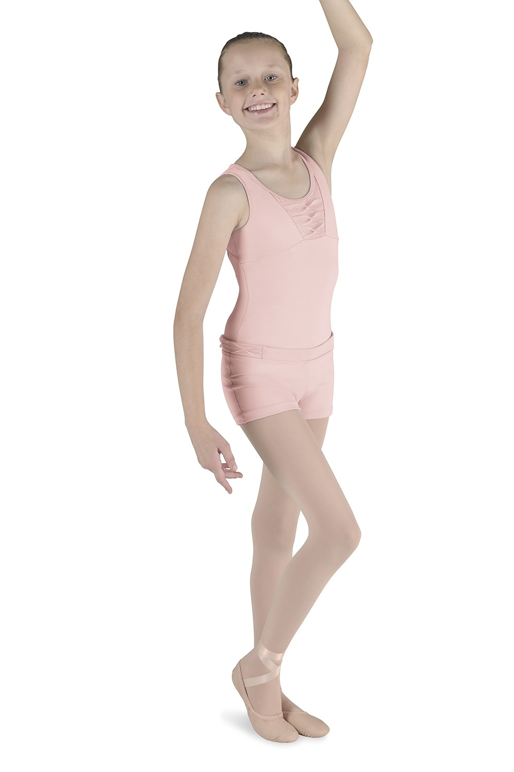 Pinch Pleat Tank Leotard Children's Dance Leotards
