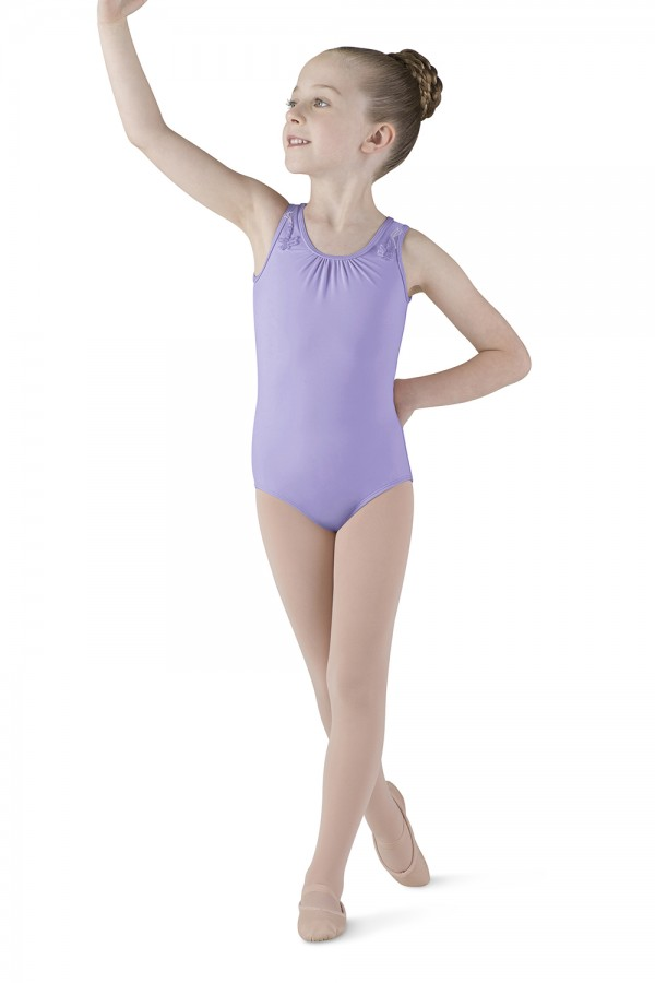 image - Petal Back Tank Leotard Children's Dance Leotards