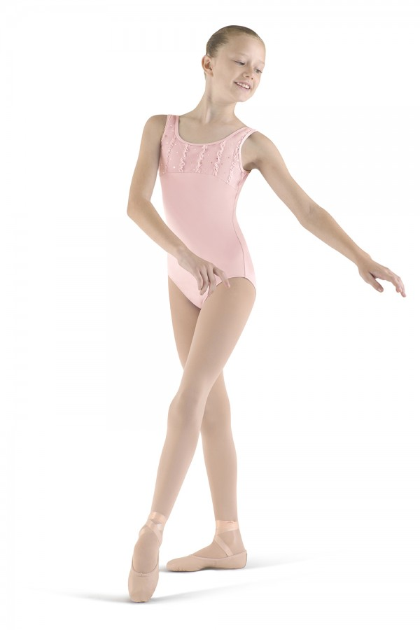 image - Frill Front Tank Leotard Children's Dance Leotards