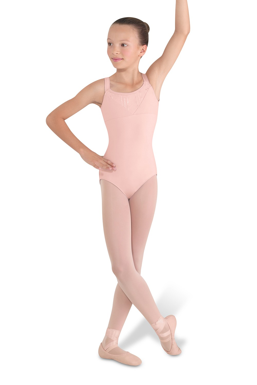 Front Yoke Tank Leotard Children's Dance Leotards