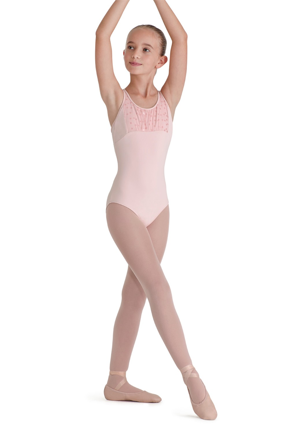 Rouleaux Back Tank Leotard Children's Dance Leotards