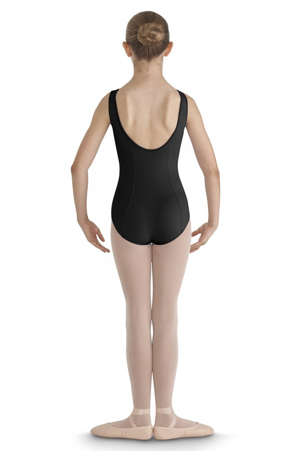 image - CRINKLE MESH BUST Children's Dance Leotards