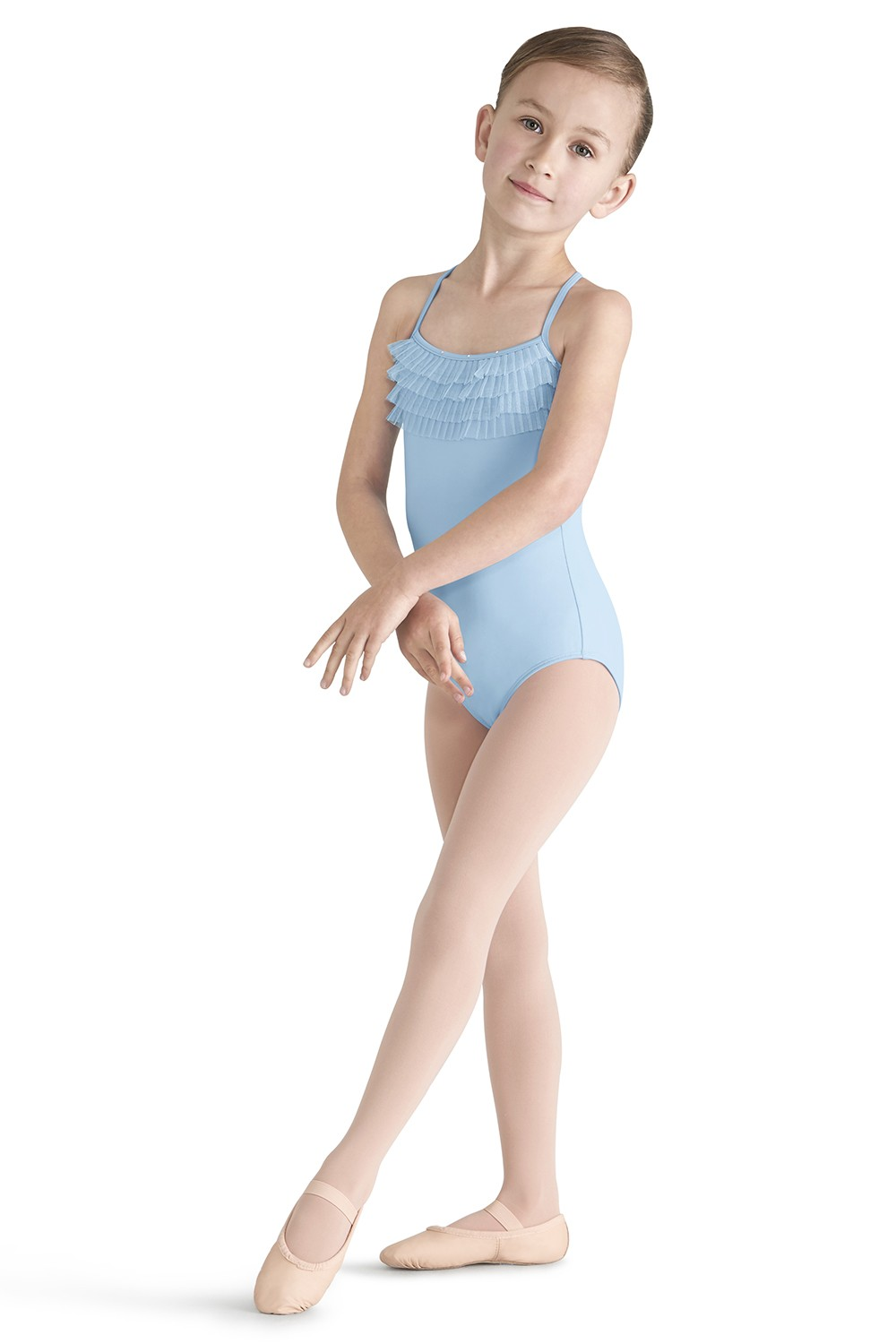 Tulle Bust Cami Leo Children's Dance Leotards