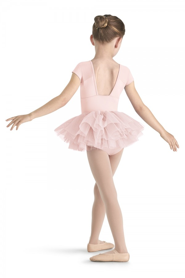 image - Cap Sleeve Tutu Leotard Children's Dance Leotards