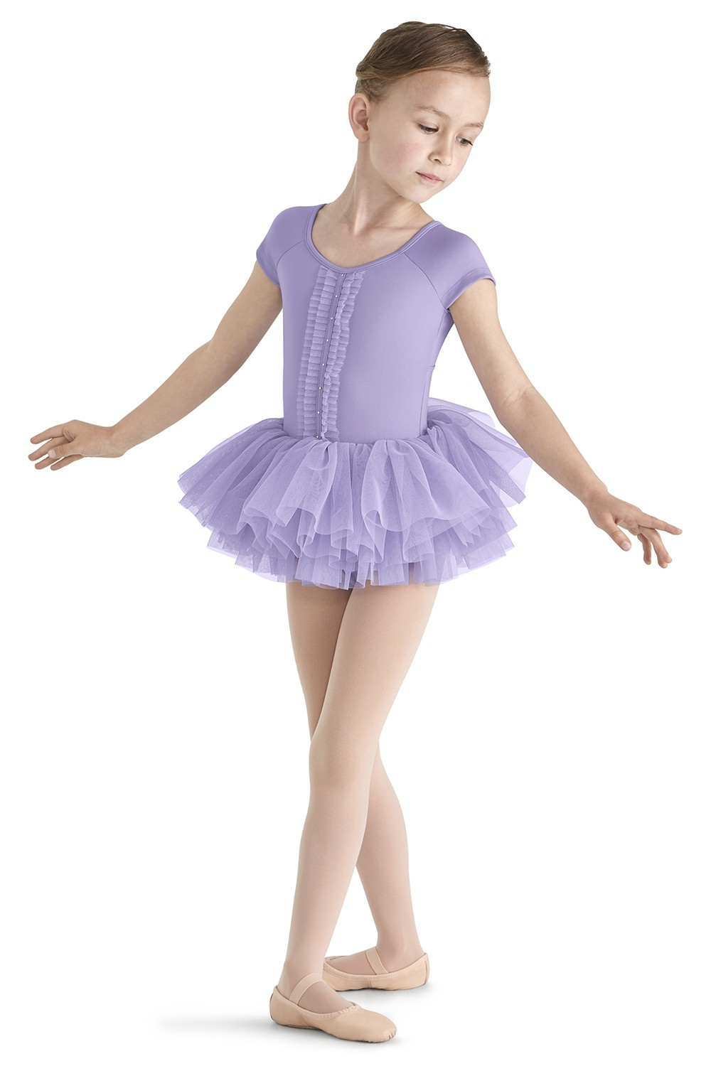 Cap Sleeve Tutu Leo Children's Dance Leotards