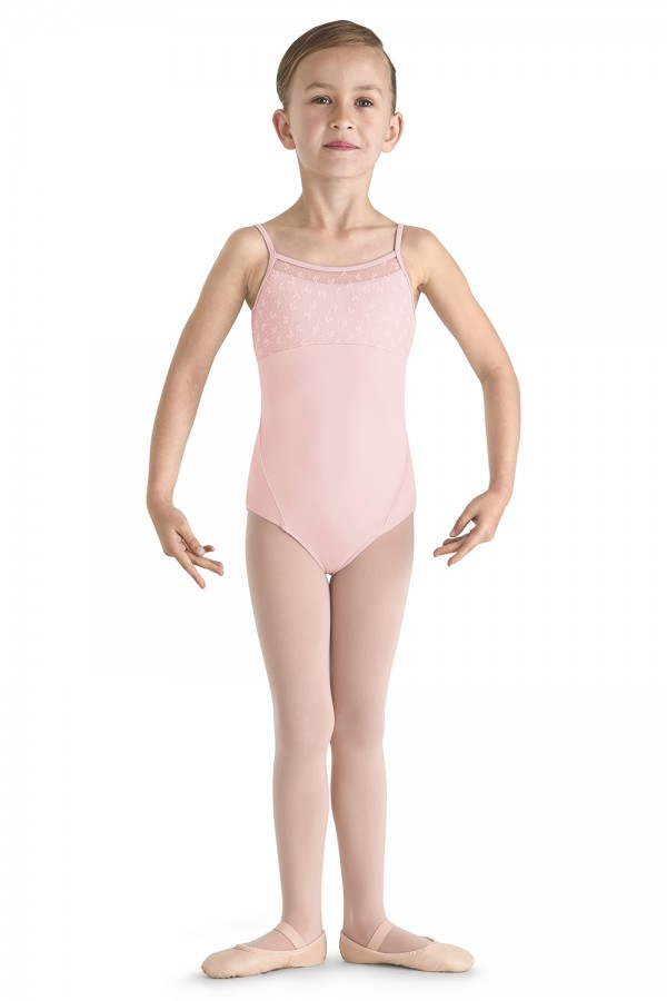 image - Bow Flock Cami Leo Children's Dance Leotards