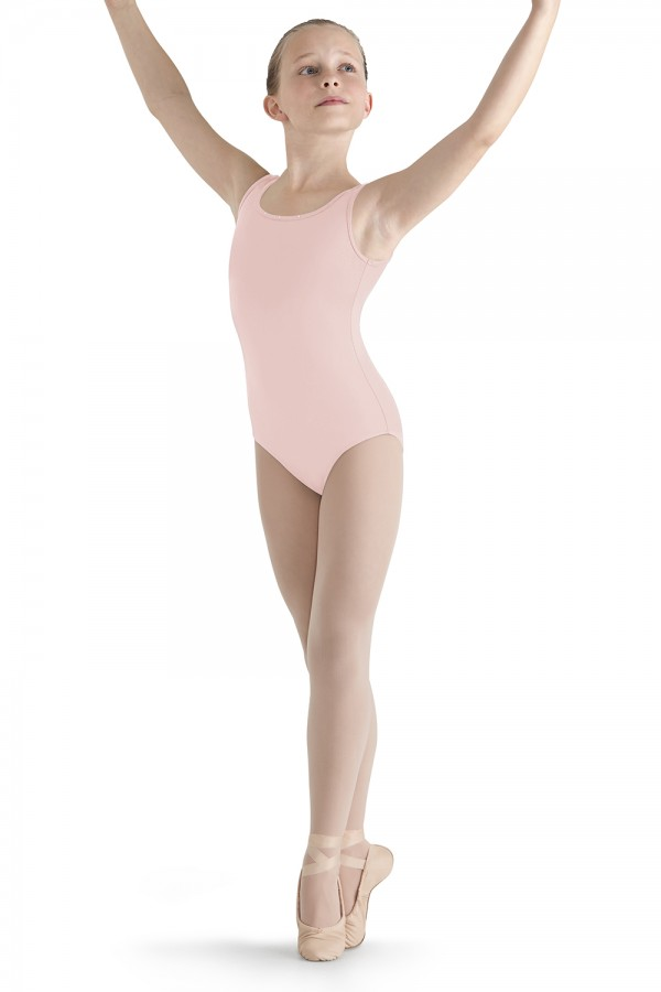 image - Tulle Back Tank Leotard Children's Dance Leotards