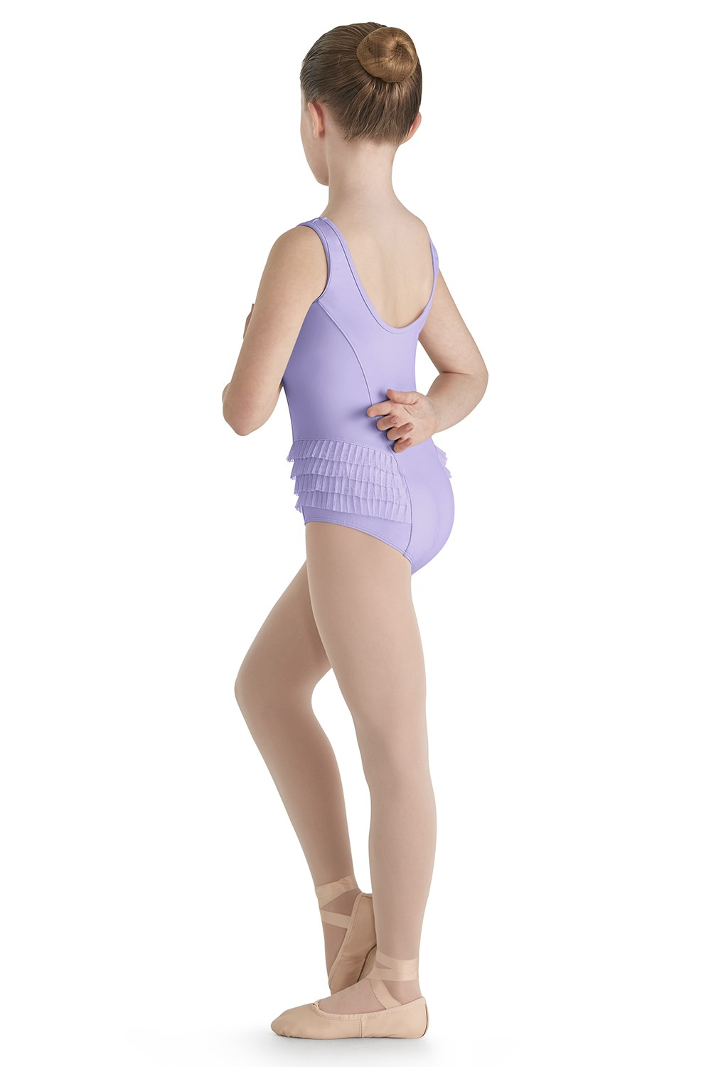 Tulle Side Panel Tank Leo Children's Dance Leotards