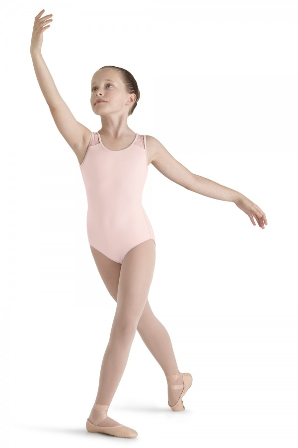 image - Bow Flock Tank Leo Children's Dance Leotards