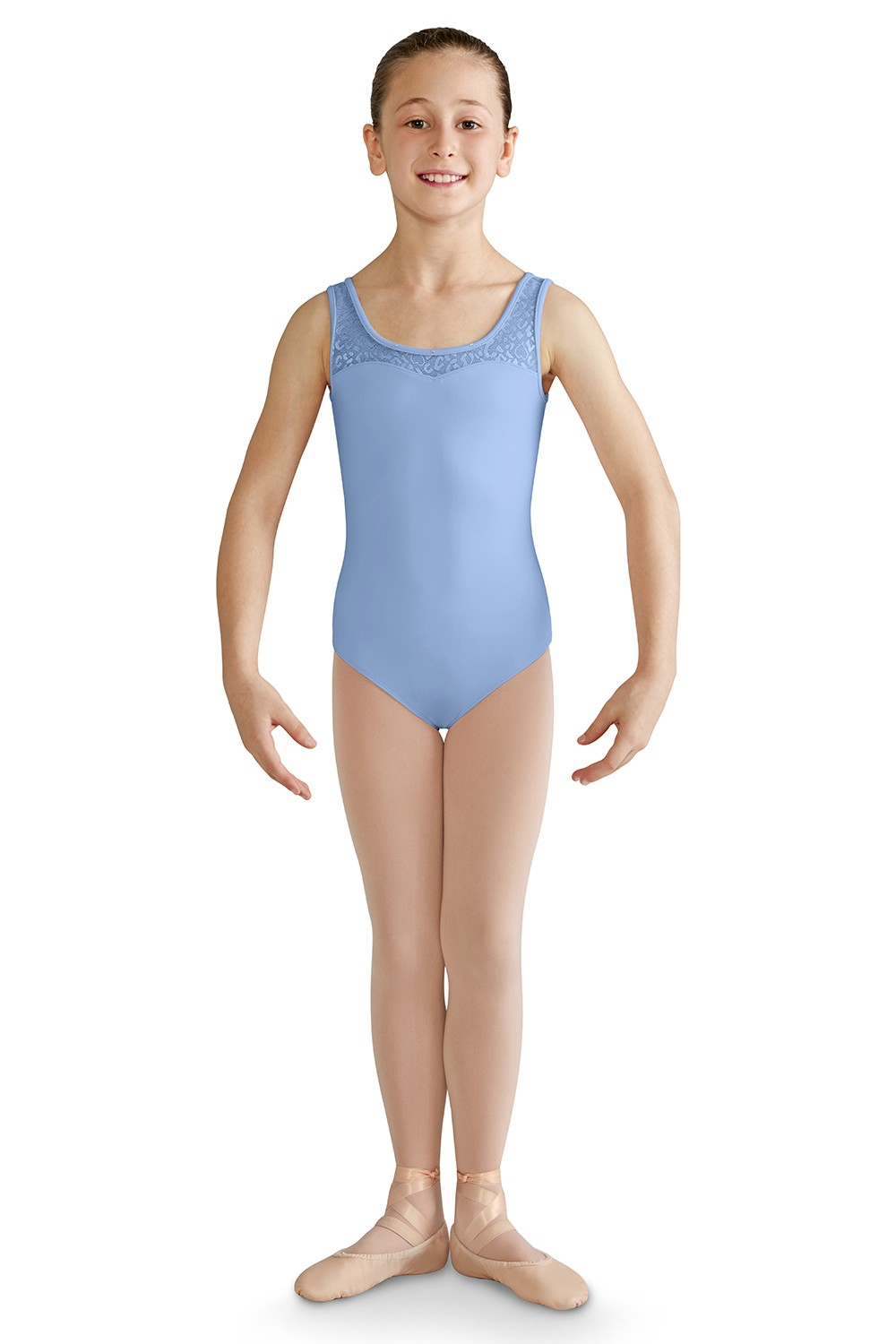 Open Bow Back Tank Leotard Girls Tank Leotards