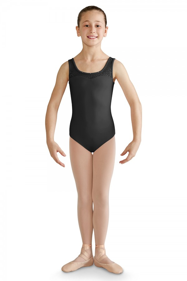 image - Open Bow Back Tank Leotard Children's Dance Leotards