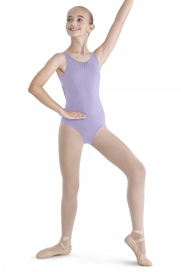 image - Diamond Panel Tank Leotard Children's Dance Leotards
