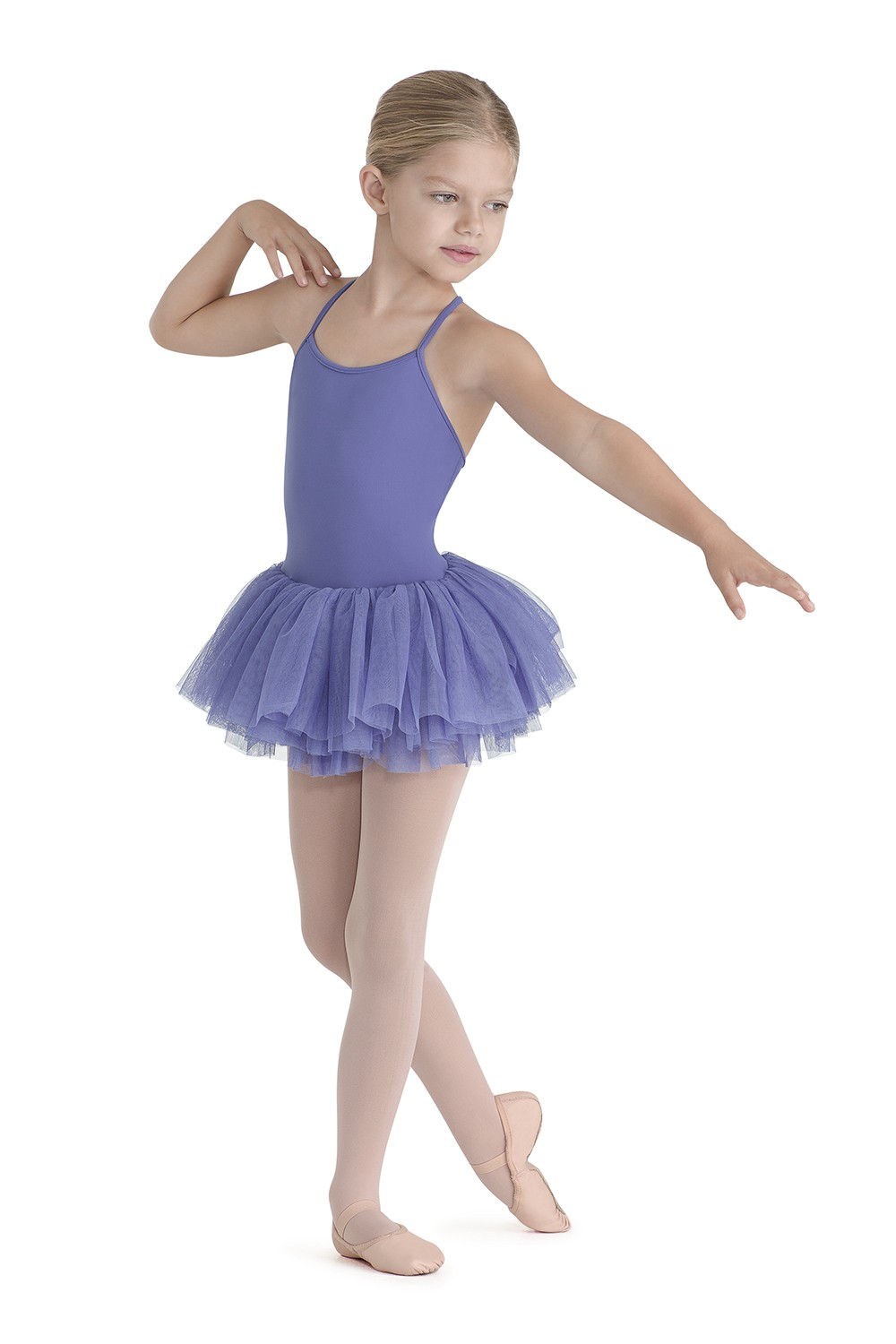 Lattice Trim Tutu Children's Dance Leotards