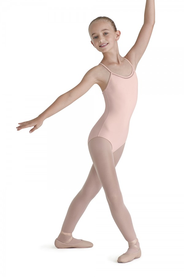 image - Lattice Trim X Back Children's Dance Leotards