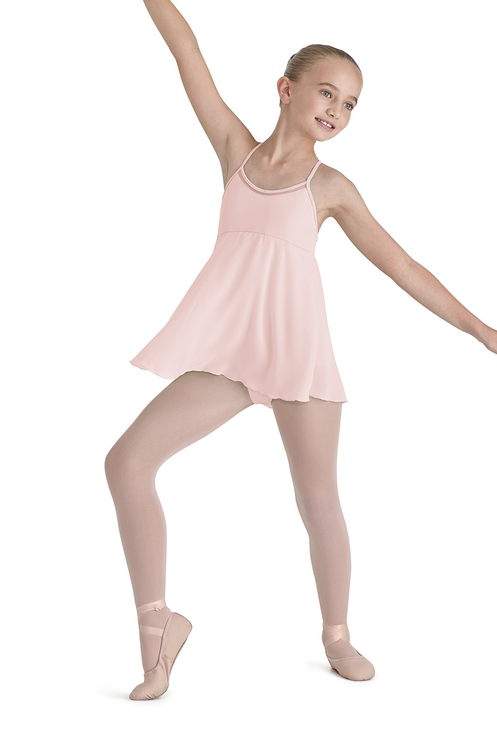 Racerback Dress Children's Dance Leotards