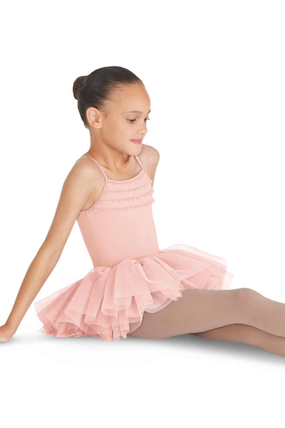 Frill Trim Tutu Leotard Children's Dance Leotards