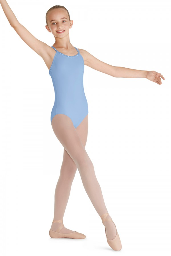 image - Frill X Back Camisole Leotard Children's Dance Leotards