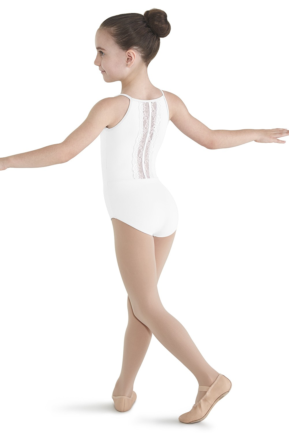Lace Back High Panel Leotard Children's Dance Leotards