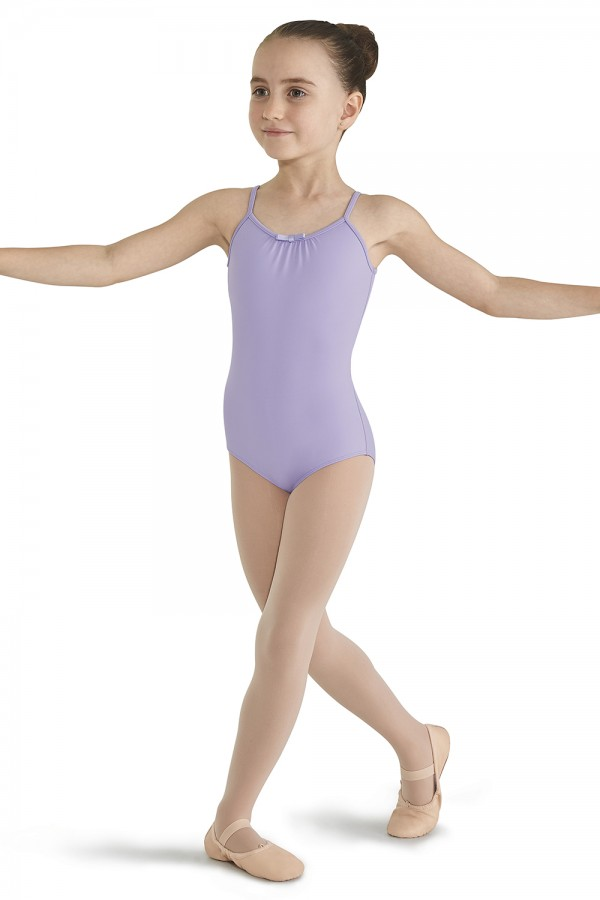 image - Lace back high panel leotard Children's Dance Leotards