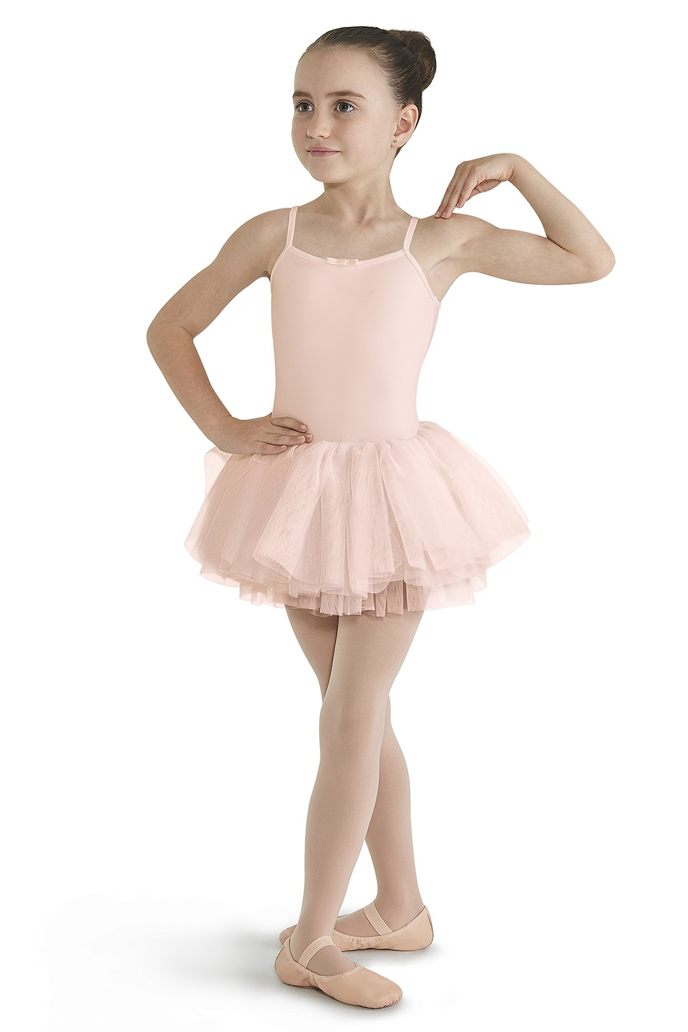 Lace Back Camisole Tutu Girls Skirted Leotards