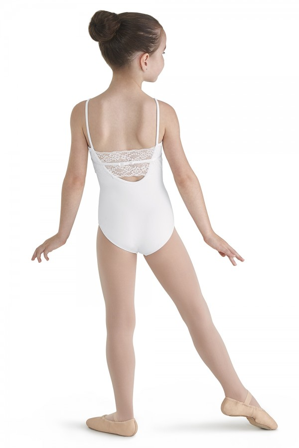 image - Lace Back Camisole Leotard Children's Dance Leotards