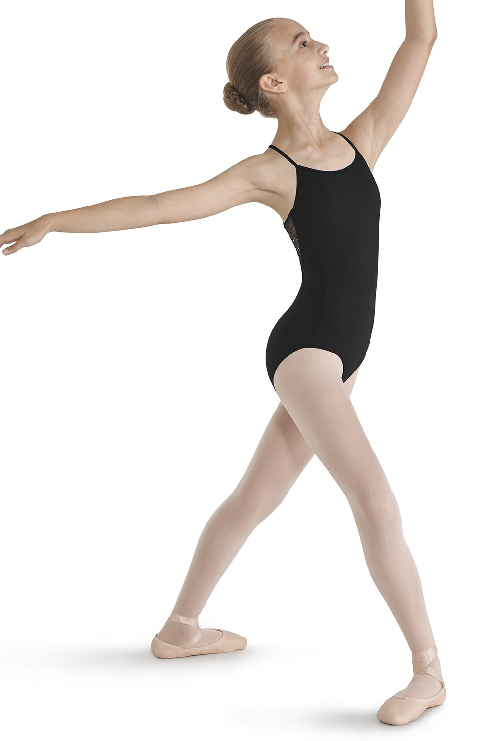 Crinkle Mesh Racer Back Leotard Children's Dance Leotards