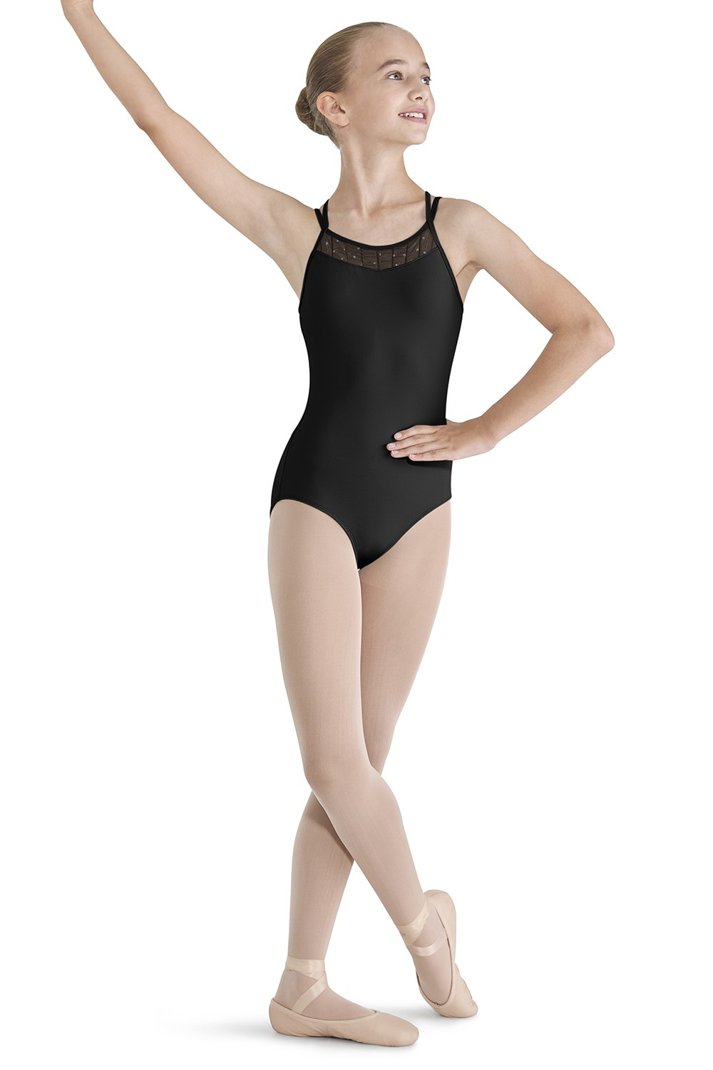 Twin X-back Camisole Leotard Children's Dance Leotards